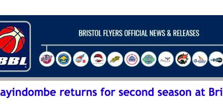 Mayindombe returns for second season at Bristol