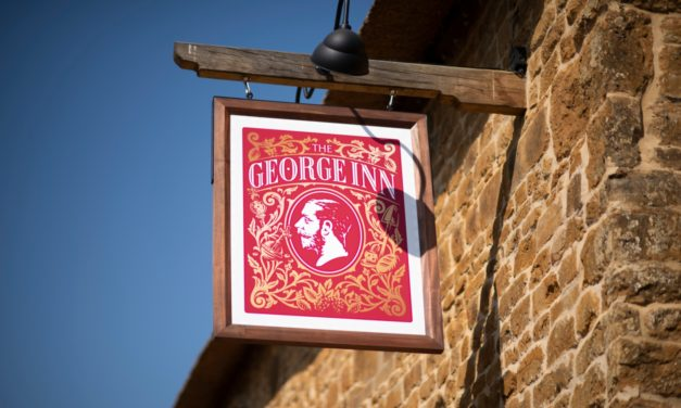 Barford St Michael makes Room for George