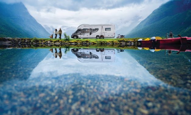 A bumper summer for caravanning and motorhomes: campers enjoy the freedom of short breaks as UK heads towards largest leisure vehicle show