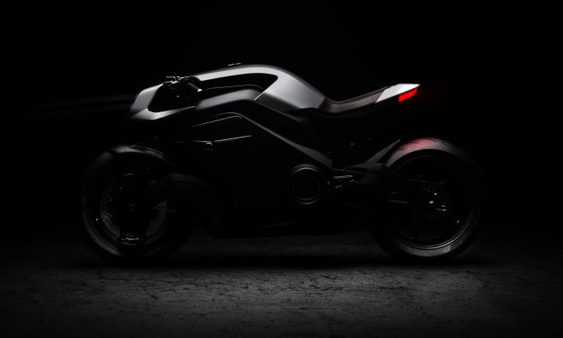 Motorcycle with Iron Man-like helmet and jacket tipped as one of the most advanced bikes ever made